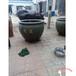 虎頭缸生產廠家鑄銅大缸黃銅二龍戲珠罐子黃銅龍缸
