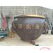 純銅缸廠家大型鑄銅缸仿古純銅水缸