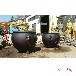 大銅缸廠家定做純銅大缸鑄銅缸擺件仿故宮銅缸