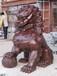 銅雕獅子定制銅獅子雕塑北京純銅獅子擺件