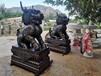 鑄銅麒麟雕塑戶外雕塑銅擺件唐縣鑄造廠祥獅工藝品