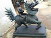 鑄銅麒麟門口擺件銅雕塑唐縣祥獅雕塑品銷售有限公司