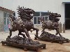 純銅麒麟雕塑鑄銅動物神獸麒麟河北鑄造廠