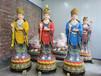 定做銅佛像源頭工廠定做八大菩薩銅佛像虛空藏菩薩