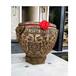 銅雕刻字銅缸仿古故宮銅大缸擺件源頭工廠