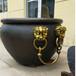 純銅仿故宮銅大缸別墅庭院銅雕大水缸雕塑擺件