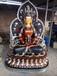 純銅長壽佛菩薩佛像擺件銅無量藏傳密宗佛教