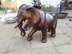 銅大象純銅廣場公園擺放銅大象祥獅工藝品