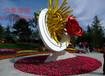 众象雕塑不锈钢雕塑花朵雕塑
