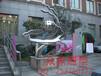 众象雕塑不锈钢抽象雕塑广场雕塑