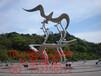 众象雕塑不锈钢飞鸟雕塑广场雕塑