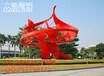 众象雕塑抽象广场不锈钢雕塑