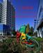 众象雕塑不锈钢骑车雕塑公园雕塑