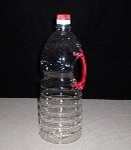 新乡市5L食用油壶:河南省大豆油桶:新乡色拉油塑料瓶:食用油透明塑料油桶图片