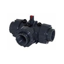 OMAL/欧玛尔PVC自控球阀ITEM-630三通PVC自控球阀
