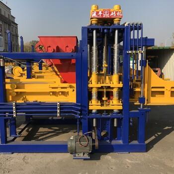 环保免烧砖机JF-QT5-20A型多功能震压式墙地砖生产线
