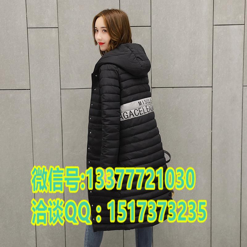 冬季新款连帽外套批发江西九江哪里找开店拿货最便宜女式棉服