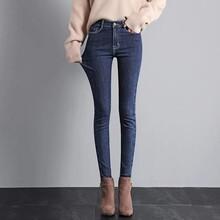 趕集甩賣雜款尾貨牛仔褲夏季女裝七分褲八分牛仔褲圖片