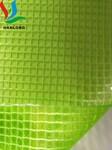 透明PVC夹网布、网格布、文件袋布图片