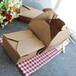 焦作濮阳三门峡一次性牛皮纸餐盒牛皮纸打包盒方形牛皮纸盒