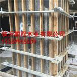 合肥方圆扣支模价格,方柱子加固件方柱紧固件安装方法图片