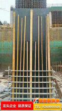 天津可调方柱加固件,方柱紧固件,方柱子模板支模加固步骤图片