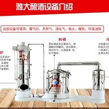 家用型酿酒设备和技术雅大大中小型家庭造酒设备供应图片
