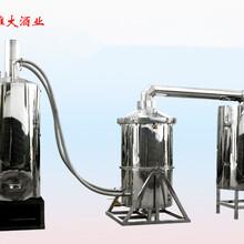 用蒸酒设备制作红枣酒方法图片