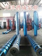 天津甘泉大功率高扬程耐高温深井泵图片