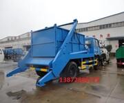 延边东风8吨自卸式垃圾车价格图片