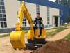 弗斯特小型履带式挖掘机是噪音小、排放低、油耗少的多功能挖掘机