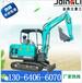 郴州芒果园挖施肥坑用微型挖机展示