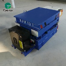 日照光电导航定点停车RGV电动平车的使用方法和工作原理图片