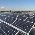 湖南江永怀能太阳能发电站100千瓦光伏发电100KW政府屋顶节能减少碳排放