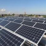 湖南江永怀能太阳能发电站100千瓦光伏发电100KW政府屋顶节能减少碳排放图片