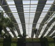 湖南江永怀能光伏农业大棚钢结构双玻太阳能大棚享受国家补贴25年使用寿命图片