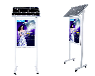 湖南江永怀能太阳能广告灯箱定制户外LED防水太阳能导光板电子超薄灯箱室外广告牌指示牌