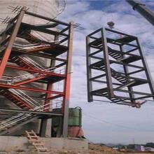 盐城烟筒旋转梯安装公司怎么做图片