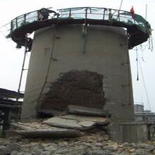 雅安人工拆除磚煙囪公司方案圖片