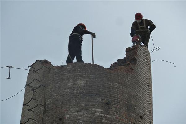 安徽人工拆除水泥煙囪公司費用