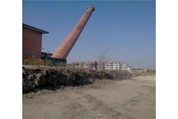 雅安人工拆除磚煙囪公司方案