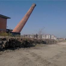 商洛混泥土煙囪人工拆除公司技術指導圖片