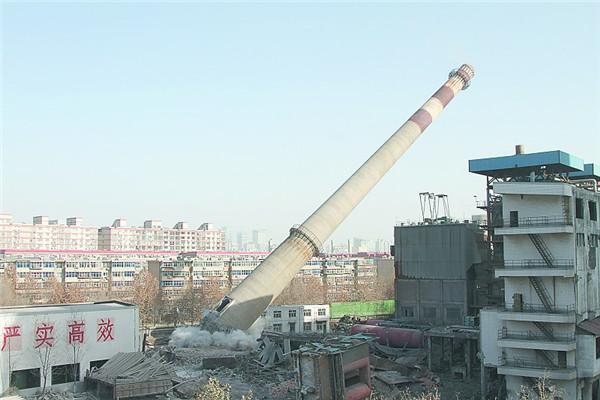 河南人工拆除水泥煙囪公司費用