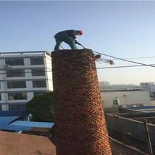 石家庄烟囱玻璃鳞片防腐施工公司报价图片