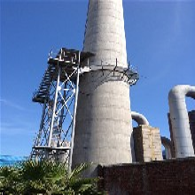 甘孜钢烟囱制作安装公司施工单位图片