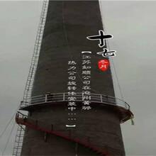 随州烟囱防护爬梯制作安装公司施工队伍图片