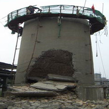 邢臺市煙囪拆除公司的做法圖片