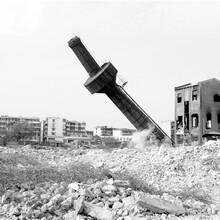 黃山市鋼煙囪拆除公司的工序圖片