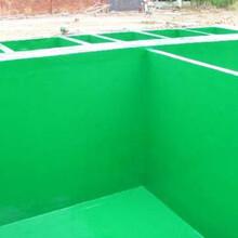 忠县旧水池玻璃钢翻新防腐施工公司三布四油图片
