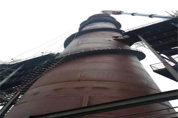 乌鲁木齐烟囱打抱箍加固施工队包工包料